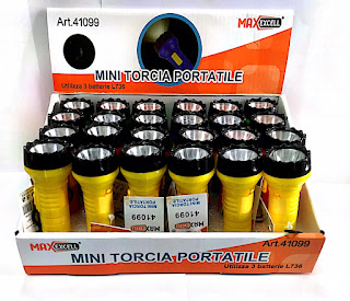 mini torcia maxexcell 24pz