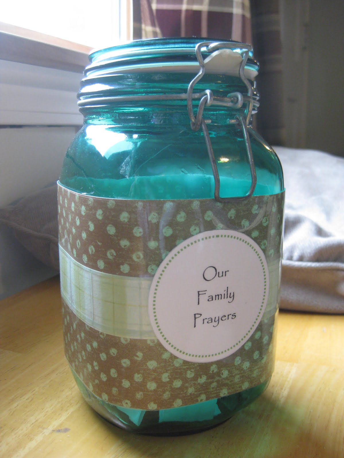 Wee Little Miracles Family Prayer Jar An Idea For Lent