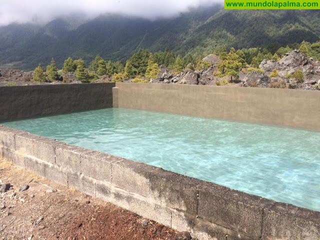 El Paso repara un antiguo estanque en la Montaña Quemada