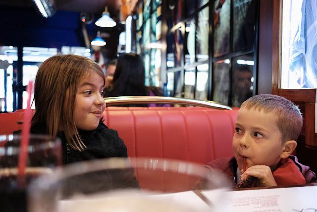 Al ristorante americano. Fotografata con la Fuji X-T2