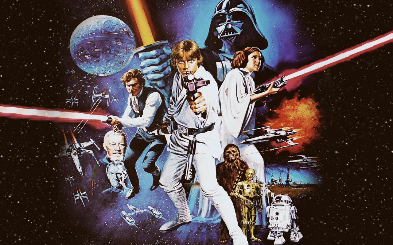 Resultado de imagen de star wars años 80