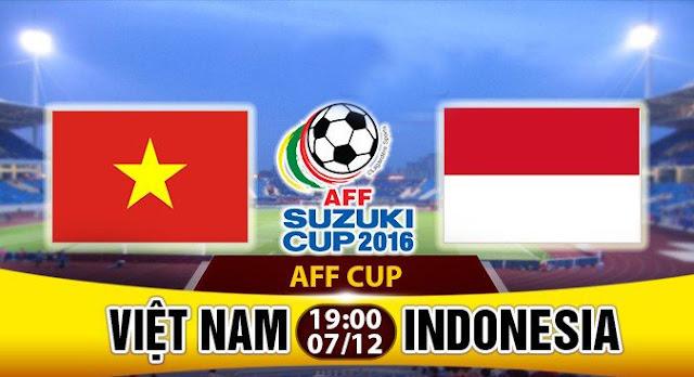 Trực tiếp Vietnam vs Indonesia - Bán kết lượt về AFF Suzukicup 2016