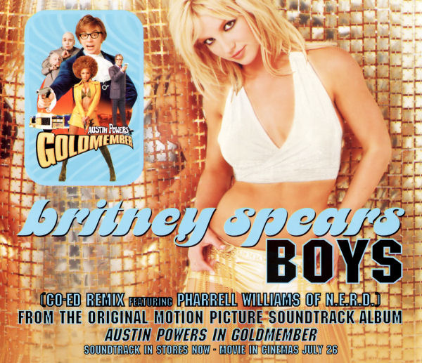 Britney Spears Feat. Pharrell Williams - Boys (Co-Ed Remixes)