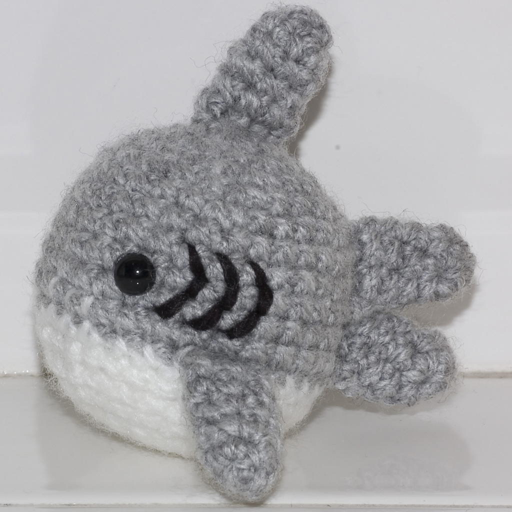 Crochet Shark Amigurumi - One Dog Woof | 1024x1024