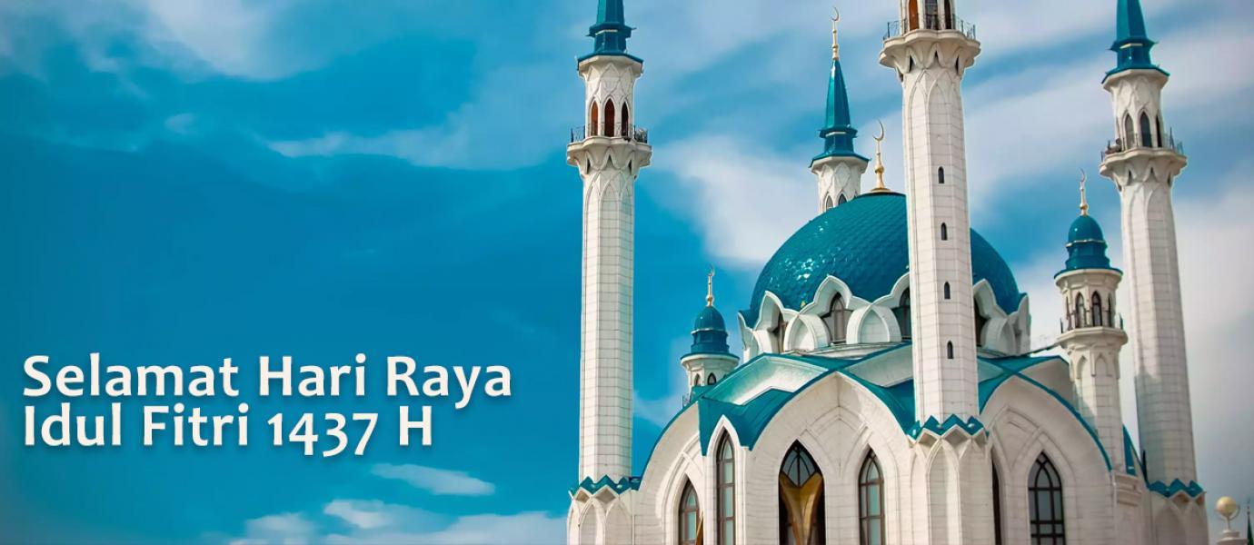 Kata Ucapan Selamat Hari Raya Idul Fitri 1437 H dan Lebaran 2016