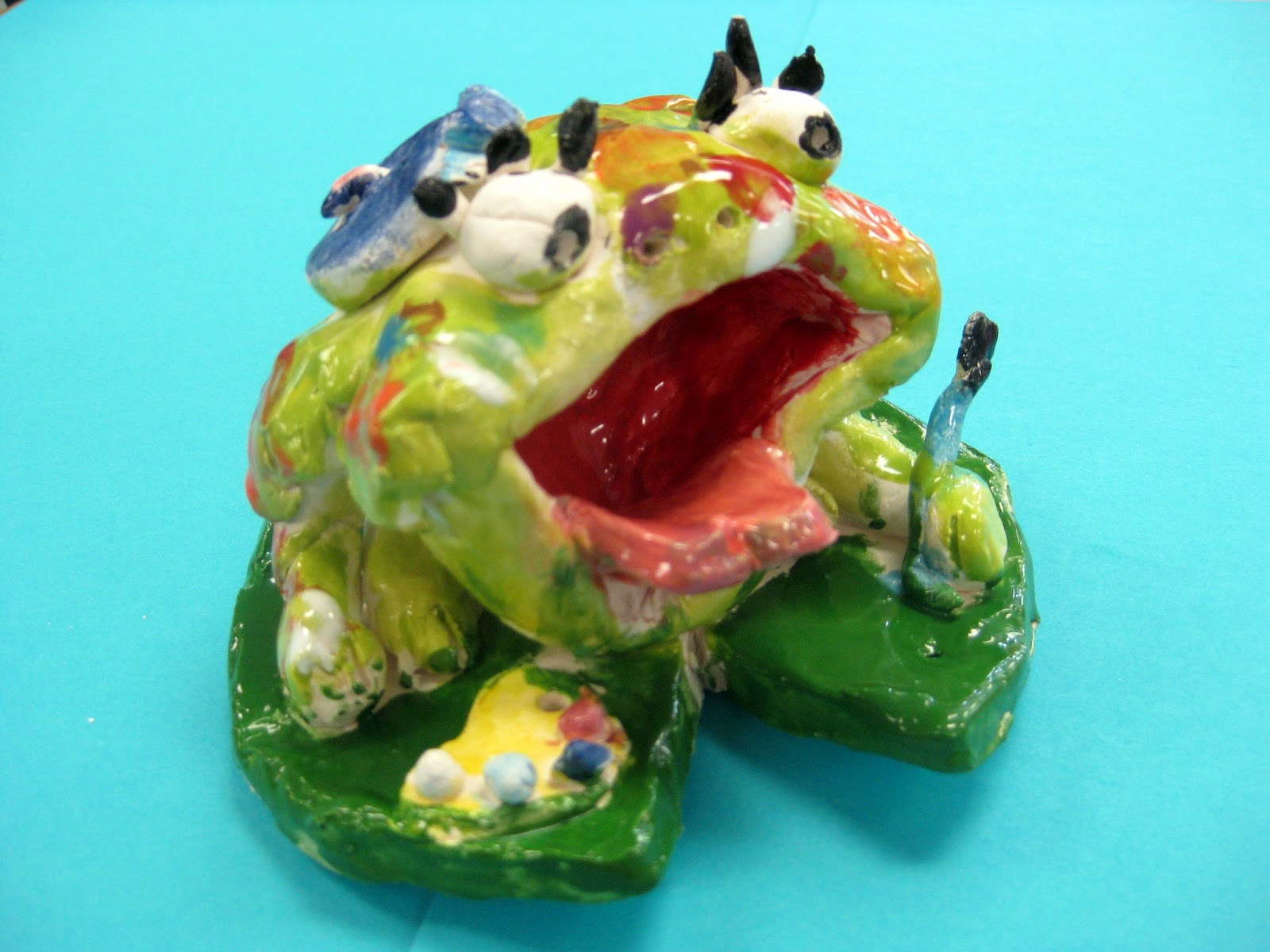cassie stephens clay frogs