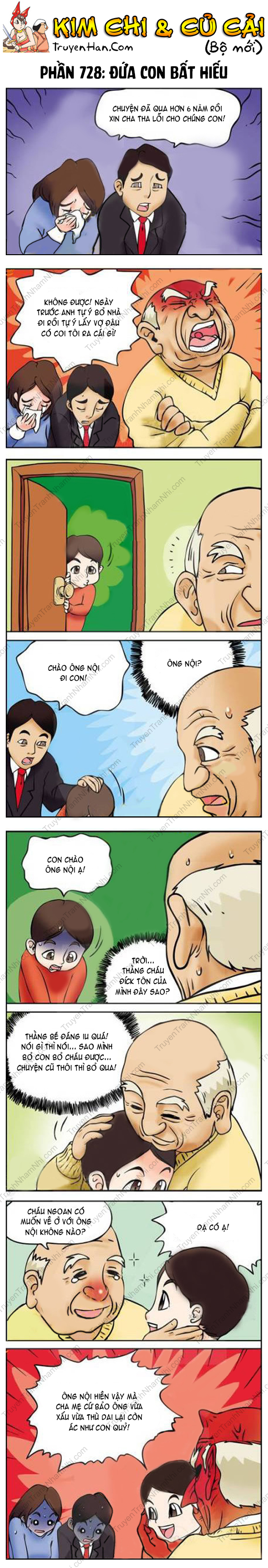 Kim Chi Và Củ Cải Phần 728: Đứa con bất hiếu