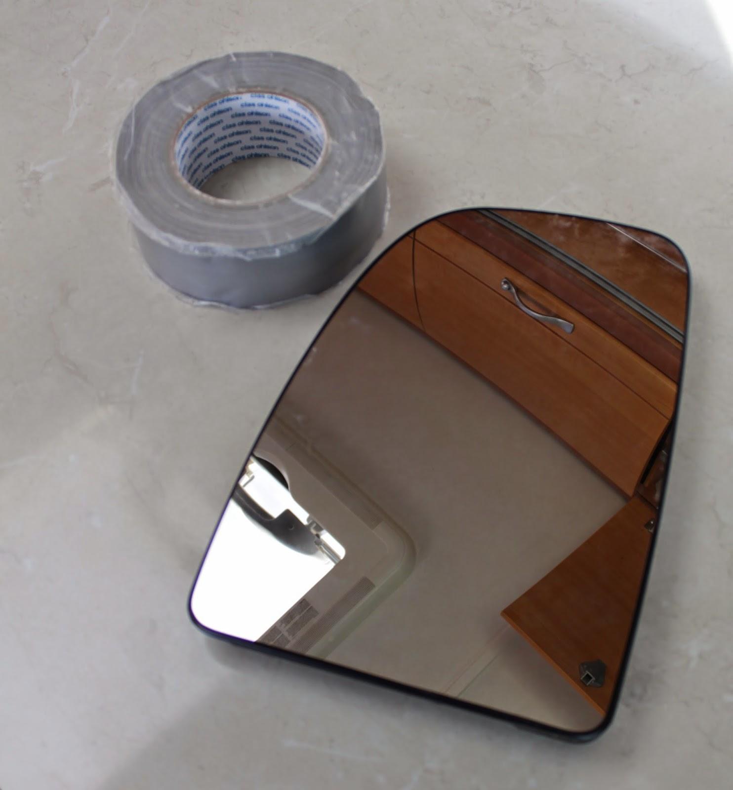 feste speil på fliser