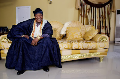 Photos: King Sunny Ade Looks Dapper Ahead of Celebration Concert