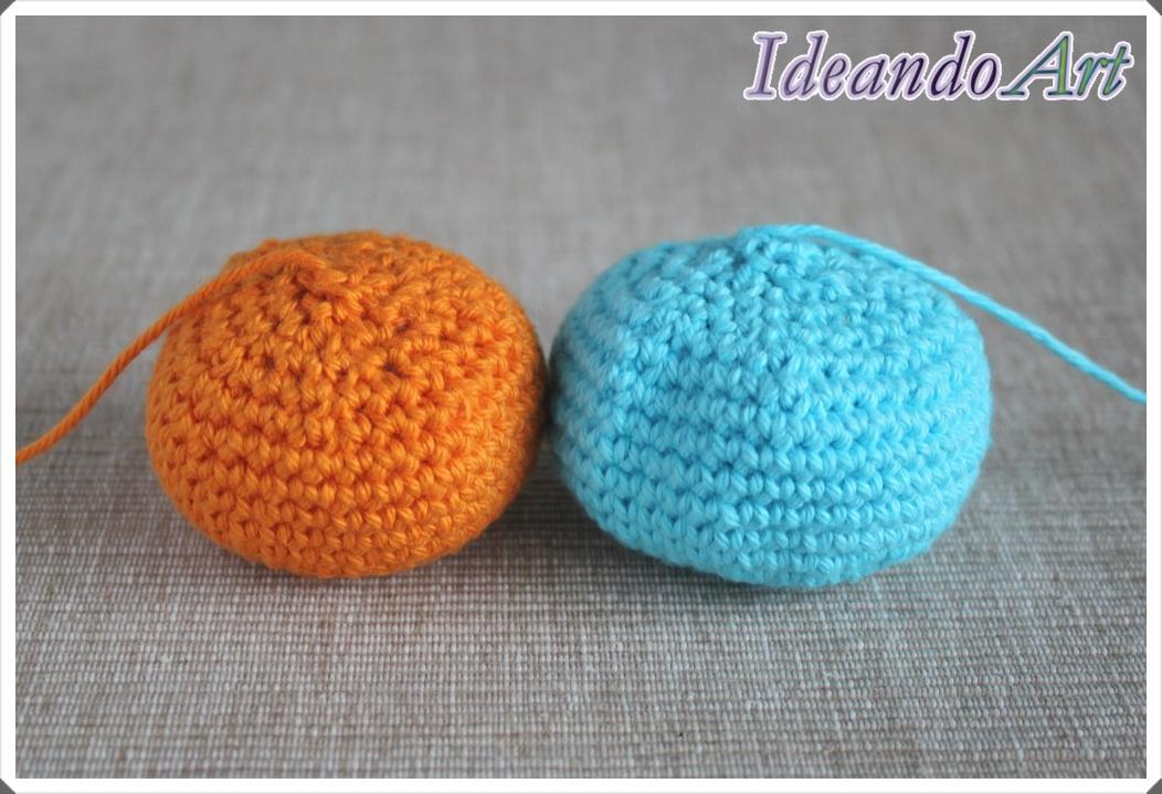 Bolas de crochet