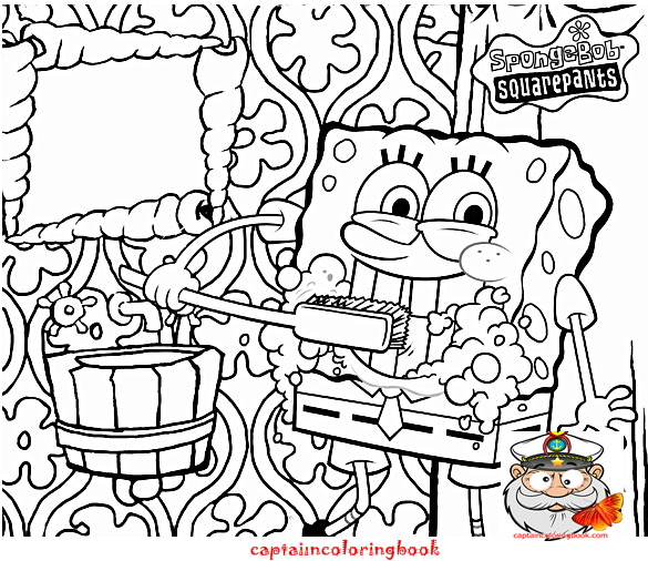Spongebob squarepants coloring