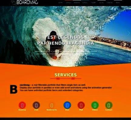 Boardmag Responsive Blogger Template