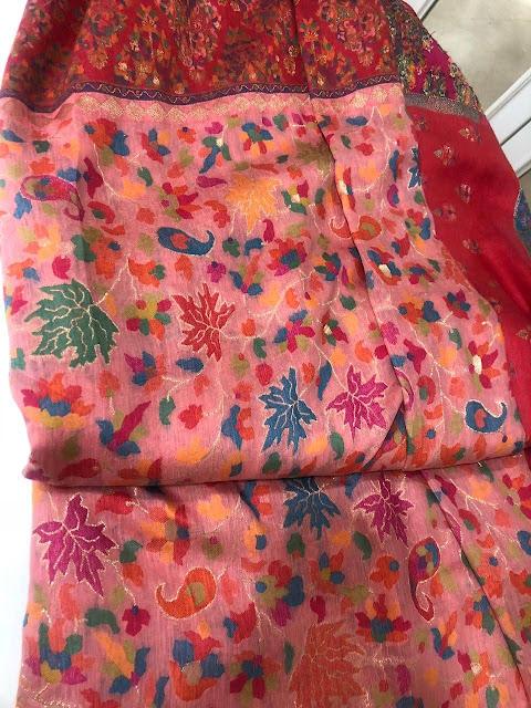 Pink Kani Saree