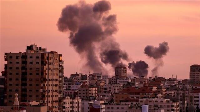 Israel warplanes target multiple Hamas positions in Gaza Strip
