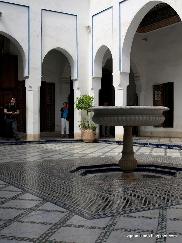 Marrakesz - Palais el Bahia