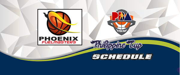 List of Games: Phoenix Fuel Masters Complete Game Schedules 2016-2017 PBA Philippine Cup