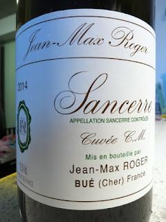 Jean-Max Roger Cuvée C.M. Sancerre Blanc 2014 (90+ pts)