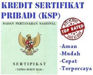 kredit sertifikat pribadi