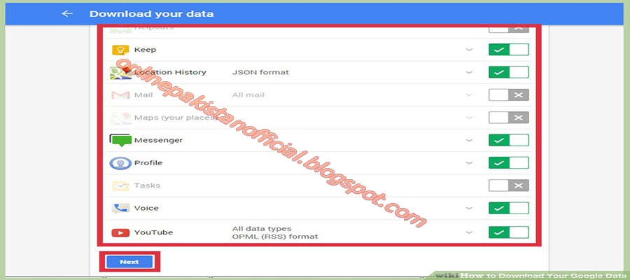 How to Download Your Google Data with Screen Shots Download your data