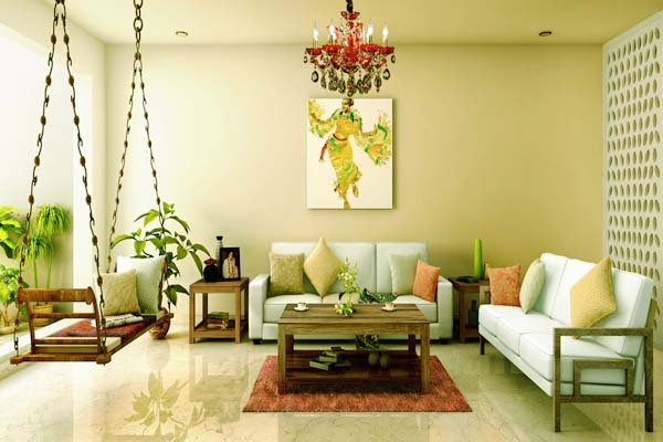 Living Room Minimalist Goes East: Living Room Designs India