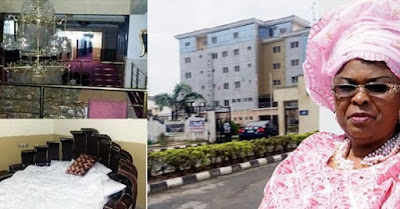 Photos: Patience Jonathan's N10bn hotel, Royal suite costs N367k per night