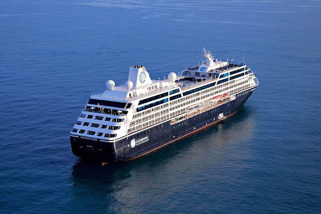 The Azamara Quest sails into new horizons full of the promise of destination immersion whatever port she may call upon.