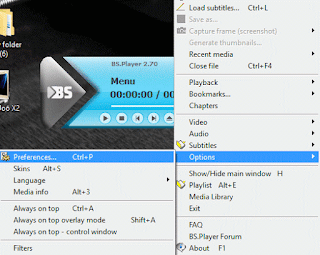 BSPlayer Preferences