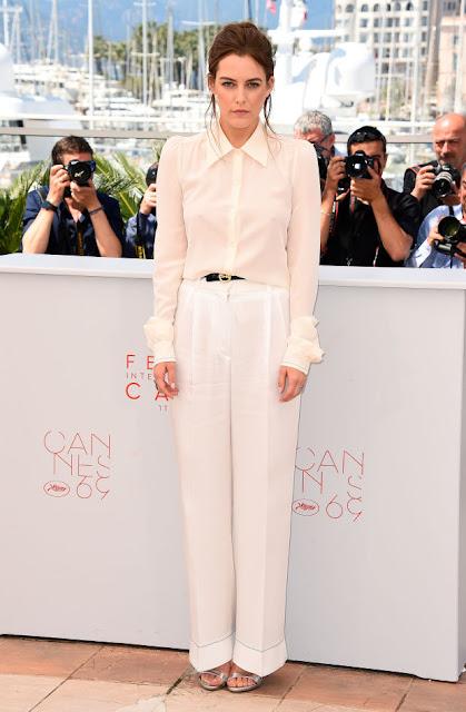 Riley Keough in Sonia Rykiel at the Cannes Film Festival. Photo: Ian Gavan/Getty Images