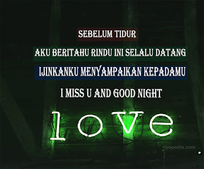 Kata Selamat Tidur Romantis