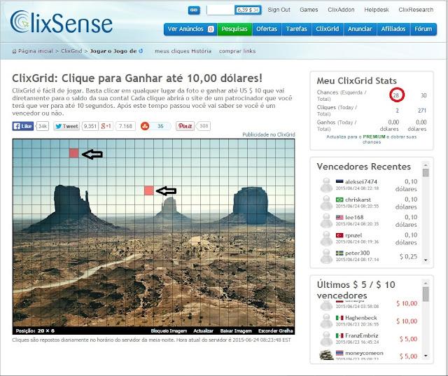 11° imagem com tutorial de como se cadastrar no clixsense