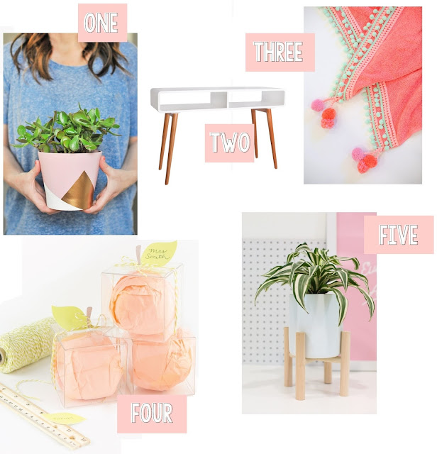 Check out this fun roundup of (mostly DIY'd) items!