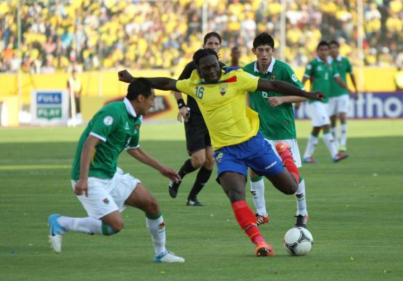 Resultado de imagem para Bolívia vs Equador