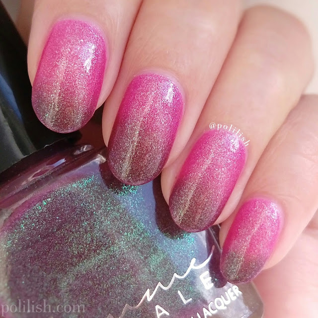 Femme Fatale Cosmetics Whispers of Velvet swatch | polilish