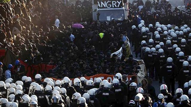 Διάσκεψη G20 στο Αμβούργο στο ρυθμό της βίας (βίντεο)