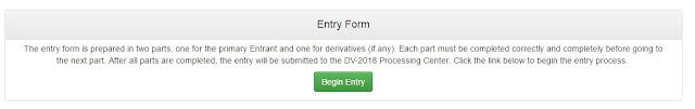 How To: Fill EDV Lottery Form Online By Yourself