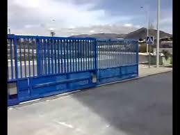 placas portões industriais