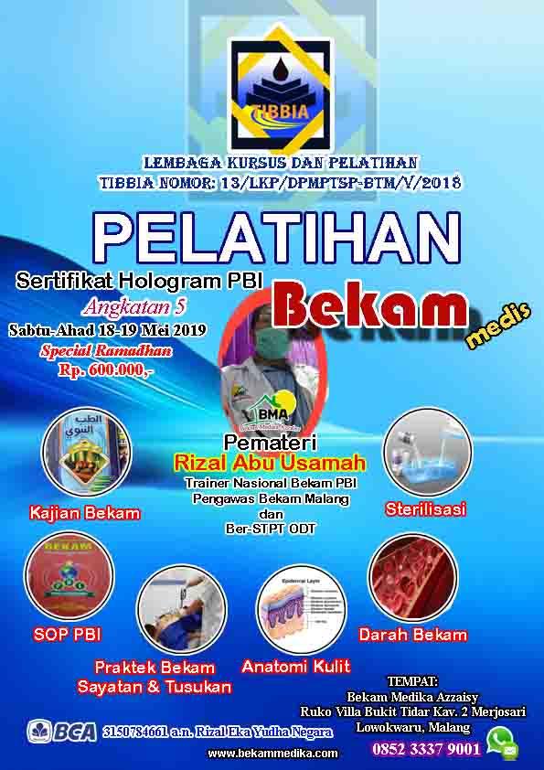 Pelatihan Bekam di Malang