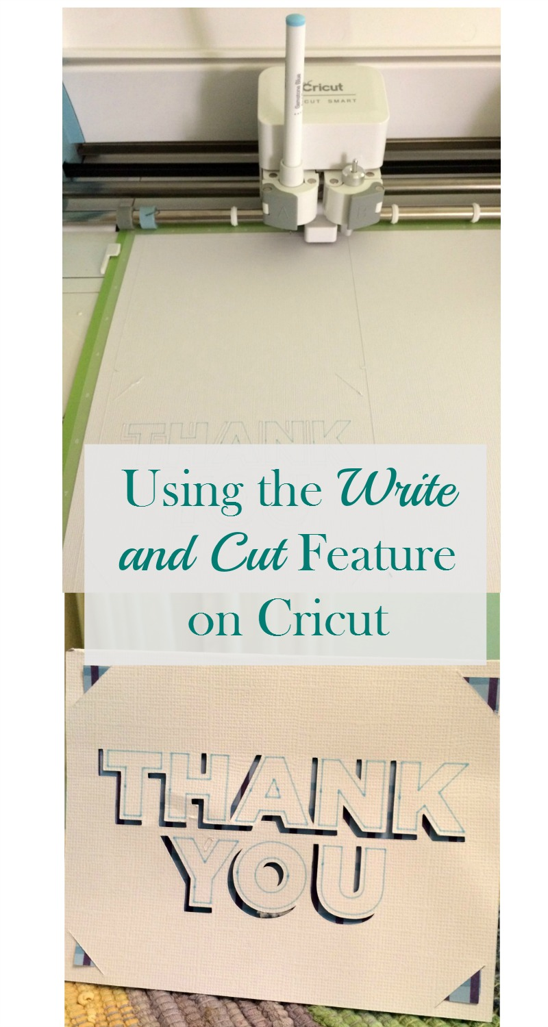 how to get cricut to cut and write