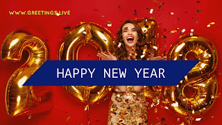 2018 New Year celebration with happiness