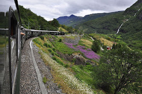 Flamsbana - one of the top train rides in Europe