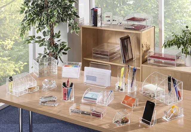Accesorios del escritorio, decoideas y estilos.