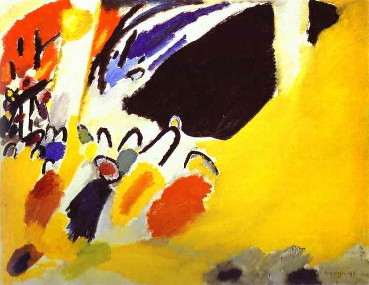 Wassily Kandinsky Blue Rider concierto impresión Abstracto Tarjeta de felicitación Paquete de 6