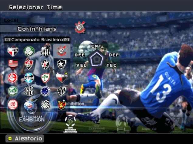 Jogar futebol online com times brasileiros