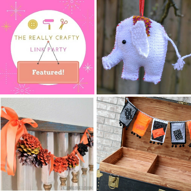 The Really Crafty Link Party #87 featured posts