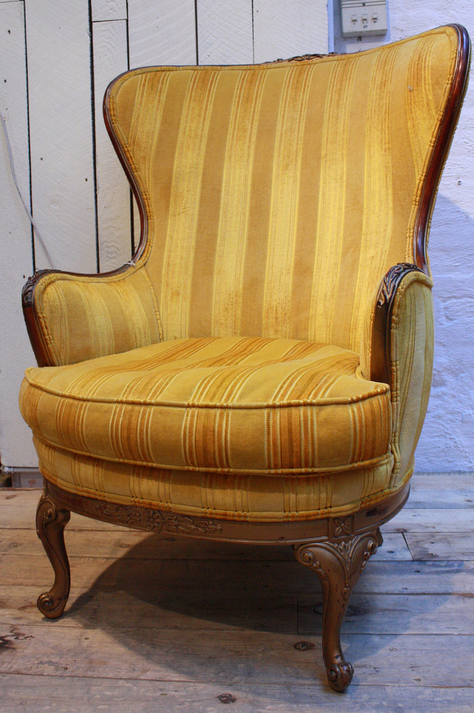 folding chair yellow living room covers at target loopy mango: vintage & antique chairs!