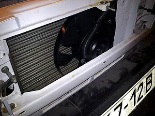 Замена радиатора валдай