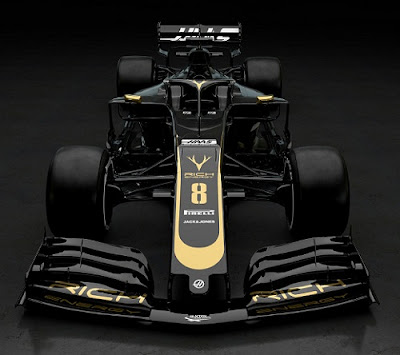 F1 team Hass New Car  2019
