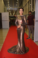 Actress Catherine Tresa in Golden Skin Tight Backless Gown at Gautam Nanda music launchi ~ Exclusive Celebrities Galleries 110.JPG
