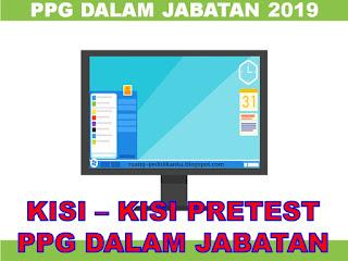 kisi-kisi pretest ppg