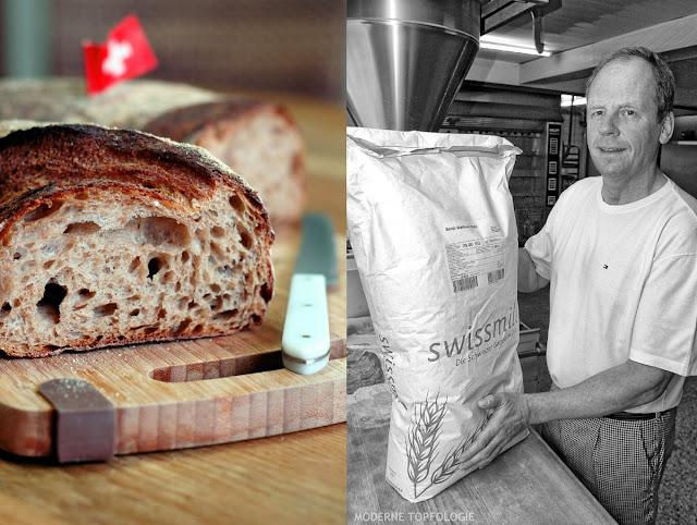 Rund fünfmal so teuer wie herkömmliche Ware ist das Schweizer Ruchmehl, das Helmut Russ für das Walliser Landbrot verwendet. Bäckerei Ruß in Guldental an der Nahe. #MoToLogie